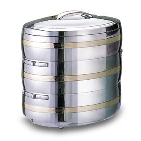 3-in-1 Oval-shaped Food Warmer, Ideal for Kitchen and Picnic Use, Available in 6/9L Capacity
