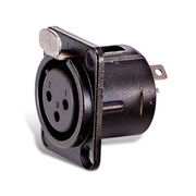 3 to 5 Pin Plastic Chassis Mount Female Connectors from Taiwan