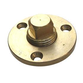 Taiwan Brass Garboard Plug Kit with Female Drain Plug Receptacle