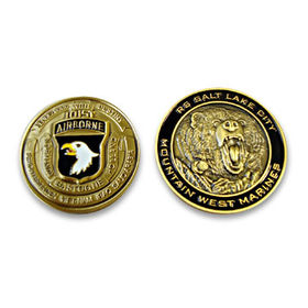 3-D Coin for OEM Orders