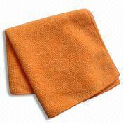 China Microfiber Cleaning Towel, Available in Different Sizes and Weights