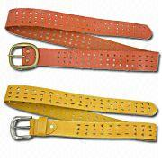 Women's Leather Belts from China (mainland)