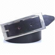 Women's Leather Belts with Metal Buckles, Available in Various Colors and Sizes
