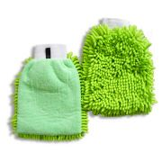 China Chenille and Microfiber Cleaning Gloves