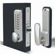 Digital Door Lock for Aluminum Storefront Door