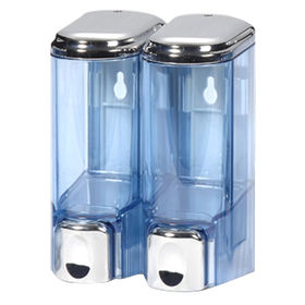 Soap Dispenser with Push-Type Release Buttons, Available in White Color from Harvest Cosmetic Industry Co Ltd