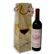 Wine paper bag from China (mainland)