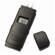 Drywall Wooden Concrete Moisture Detector with LCD Display and Low Battery Indicator