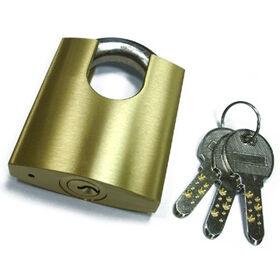 Brass Padlocks with Three Kaba Keys