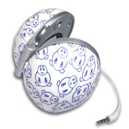 Hong Kong SAR Lightweight Portable Stereo Speaker, Compatible with iPod, MP3, MP4, CD and DVD Players