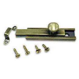 Brass Bolt with Polished Finish, Various Sizes are Available from Kin Kei Hardware Industries Ltd