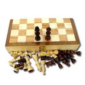 Hot Selling Board Game Set with Size of 27.2 x 13.6 x 4.5cm, Wooden Material, Gift Box Packaging