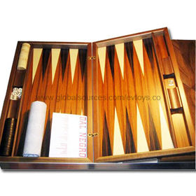 Educational Chess/Backgammon Set Manufacturer