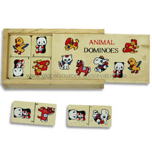 Wooden Animal Domino Manufacturer