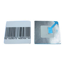 8.2MHz RF Label, Measures 40*40mm, Customized Colours are Accepted, Suitable for Home Use
