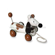 China Cute Dog Model Pulling Animal Toys