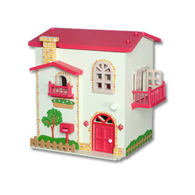 China Promotion Items, Composed of Wooden Door/Window, Measuring 34 x 28 x 33cm