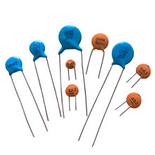Ceramic Disc Capacitor with NPO/Y5P/Z5U/Z5V Dielectric Range and 50 to 15,000V Voltages