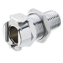 Brass Panel Mount Male Thread Socket from China (mainland)