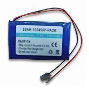 China Lithium Polymer Rechargeable Battery Pack with Long Lasting Power and Protection Circuit Board
