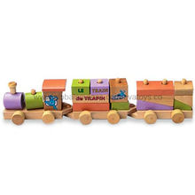 Kids' Nice Wooden Train Toy Manufacturer
