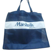 Nylon Mesh Bag with Handle, Different Colors are Available from Everfaith International (Shanghai) Co. Ltd