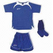 100% Polyester Soccer Suit from China (mainland)