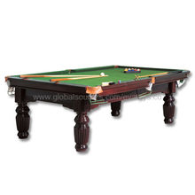 USA Design Game Table, Made of MDF, Completed with Balls, Billiard Cue and Accessories