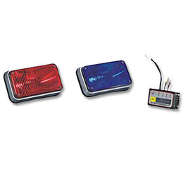 Car Hazard Emergency Strobe Warning Lights Devices with Imported Xenon Tube, Compact Design