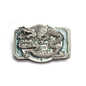 China 3D Zinc-alloy Die-cast Belt Buckle