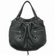 China Synthetic Leather Handbag, Various Designs and Colors are Available