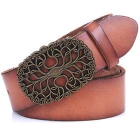 China Crack Leather Belt