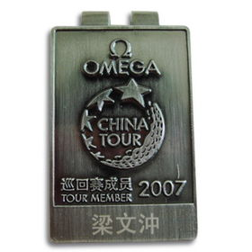 Money Clip, Made of Stainless Steel Material, Customized Designs are Accepted
