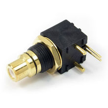 RCA Jack with Mount Molding, Applied to Hi-end Audio and Video Equipment