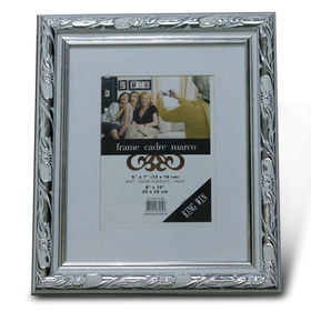 Plastic Photo Frame, Available in Various Sizes, No Crack When Pinning