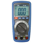 Compact Digital Multi-meter with Double Molded Plastic Housing, Measures 150 x 70 x 48mm