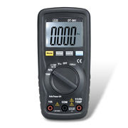 China Compact Digital Multi-meter with Double Molded Plastic Housing