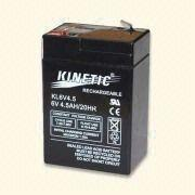 6V Sealed Lead Acid Rechargeable Battery from Hong Kong SAR