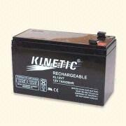 12V Sealed Lead Acid Rechargeable Battery from Hong Kong SAR