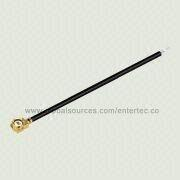 RF Coaxial Connector and RG-178 Cable Assembly with IPEX to Strip&Tin from EnterTec Technology Inc.
