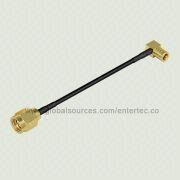 Gold-plated RF Coaxial Cable Assembly from Taiwan