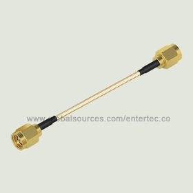 Wi-Fi Antenna Cable with Male SMA S/T Plug Both End Connector for RG-316 RF Coaxial Cable Assembly from EnterTec Technology Inc.