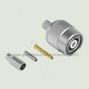 Coaxial RF Connector Jack Plug with TNC M S/T R/P Plug for RG-174/316 from EnterTec Technology Inc.
