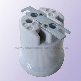 E40 Lamp Holder with Rating of 16A/500V, 5kV