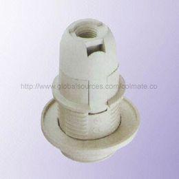 China E14 Plastic Lamp Holder with E14 Base