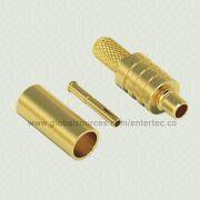 Coaxial MMCX RF Connector with  MMCX S/T R/P Plug for RG-174/316 from EnterTec Technology Inc.