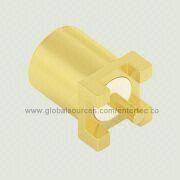 Coaxial RF Connector Adapter with Female MMCX S/T Jack for SMT from EnterTec Technology Inc.