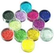 Wholesale 12 Colours glitter dust set, 12 Colours glitter dust set Wholesalers