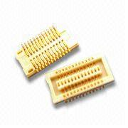Taiwan 0.4mm Board to Board PCB Connector with 50V Operating Voltage