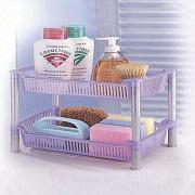 2-Tier Shower Rack L&F Plastics Co. Ltd